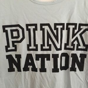 PINK Victoria's Secret Tops - Pink Nation short sleeved tee